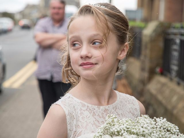 Austin and Lianne's wedding in Troon, South Ayrshire 4