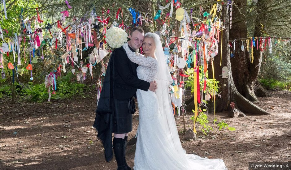 Austin and Lianne's wedding in Troon, South Ayrshire