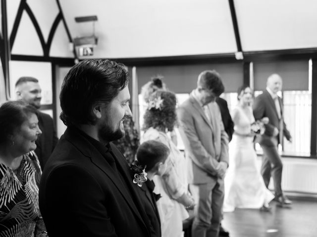 James and Emily's wedding in Tenbury Wells, Worcestershire 8