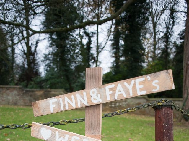 Faye and Fin's wedding in Holdenby, Northamptonshire 3