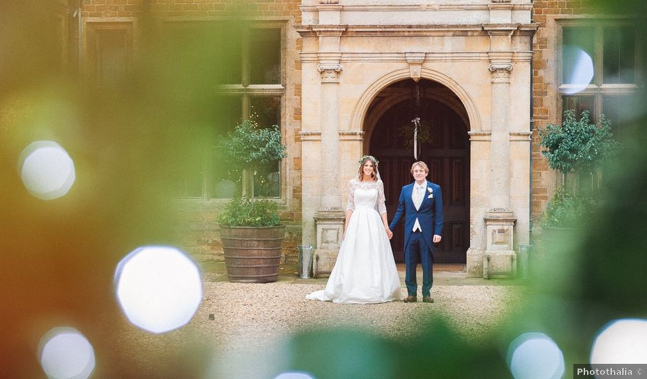 Faye and Fin's wedding in Holdenby, Northamptonshire