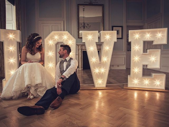 Matthew and Lauren's wedding in Wellingborough, Northamptonshire 1