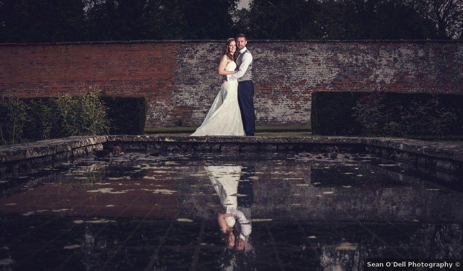 Matthew and Lauren's wedding in Wellingborough, Northamptonshire