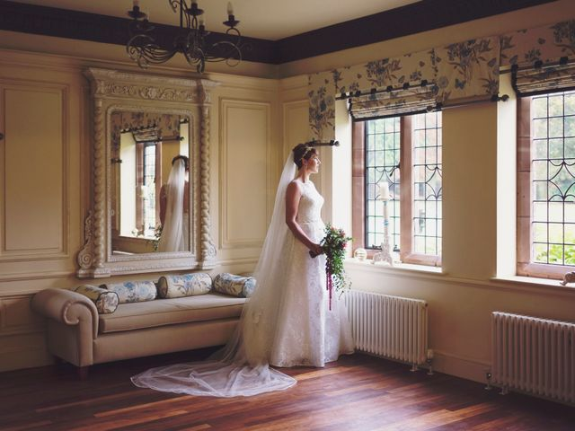 Greig and Chrissy's wedding in Over Peover, Cheshire 7