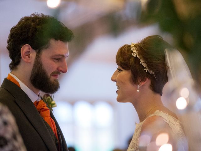 Greig and Chrissy's wedding in Over Peover, Cheshire 9