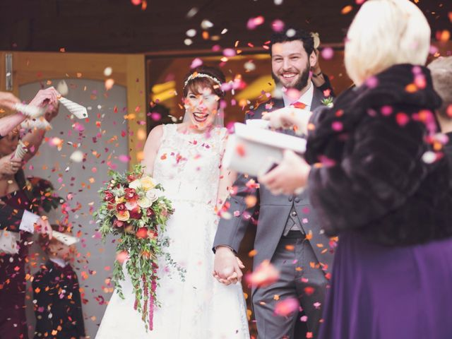 Greig and Chrissy's wedding in Over Peover, Cheshire 10