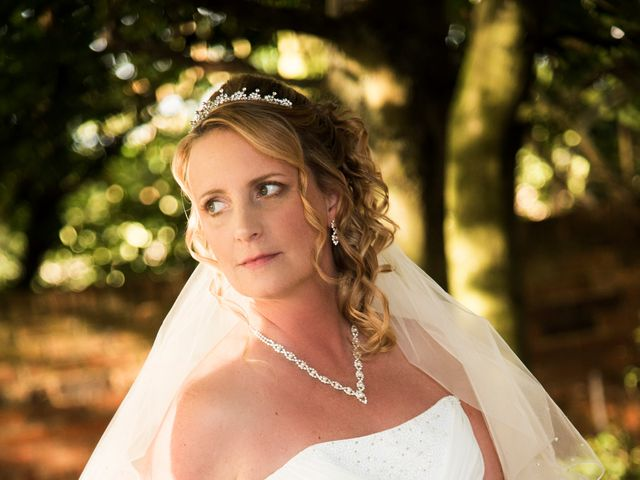 David and Ashleigh's wedding in Newport Pagnell, Buckinghamshire 3