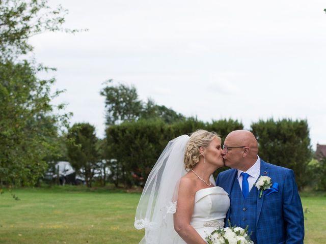 Sharon and Neil's wedding in Dunton, Essex 2