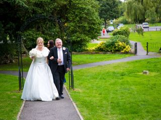 Mark and Julie's wedding in Warsop, Nottinghamshire 3