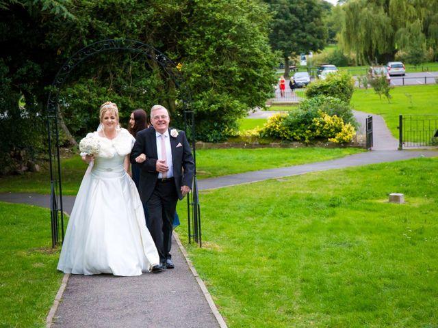 Mark and Julie's wedding in Warsop, Nottinghamshire 3