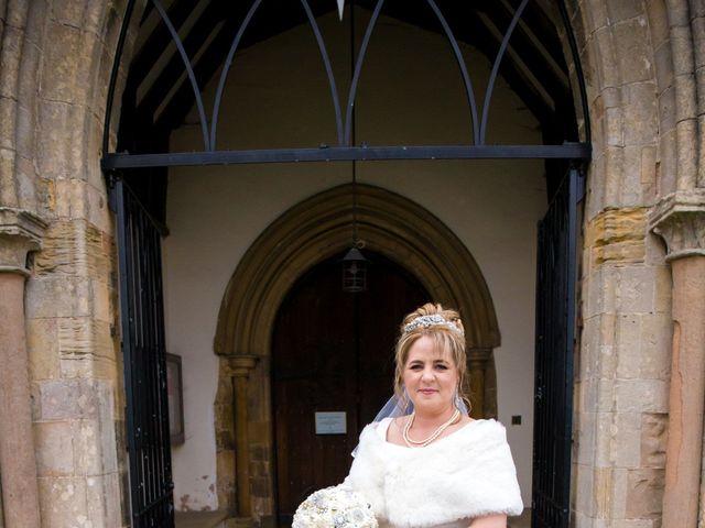 Mark and Julie's wedding in Warsop, Nottinghamshire 5