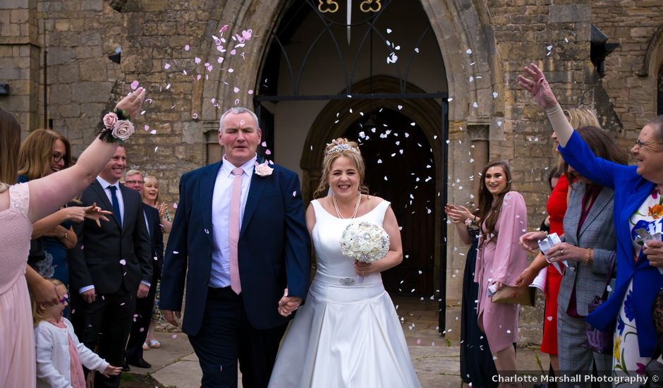 Mark and Julie's wedding in Warsop, Nottinghamshire