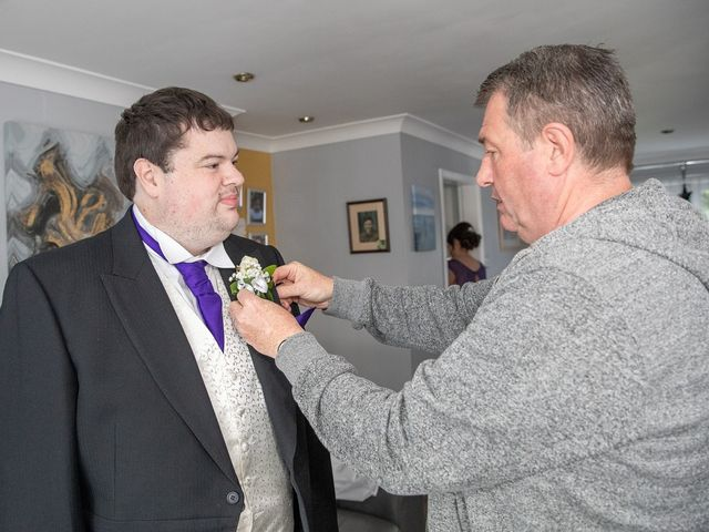 Paul and Jess's wedding in Otterburn, Northumberland 8