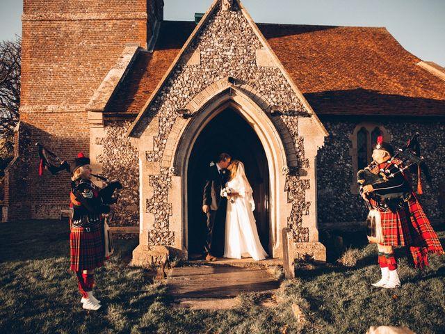 Charlie and Sophie's wedding in Newbury, Berkshire 1