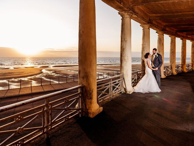 Kristopher and Gemma's wedding in Blackpool, Lancashire 5