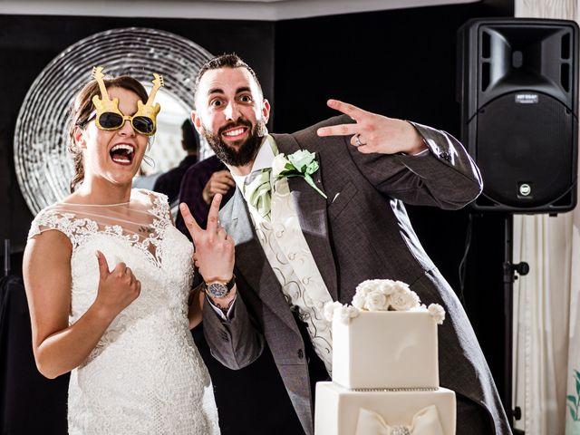 Kristopher and Gemma's wedding in Blackpool, Lancashire 6