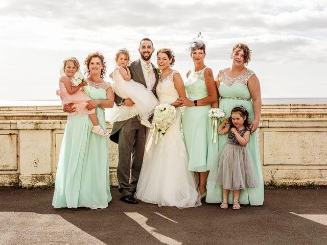 Kristopher and Gemma's wedding in Blackpool, Lancashire 8