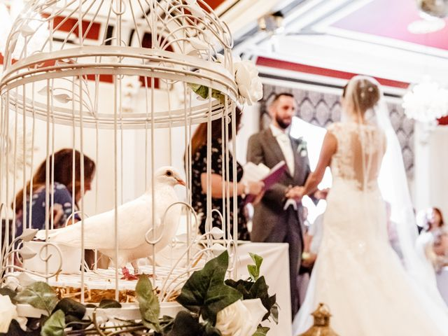 Kristopher and Gemma's wedding in Blackpool, Lancashire 1
