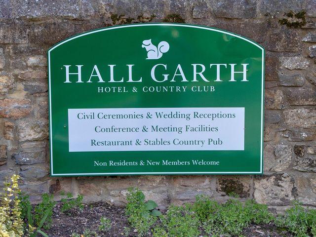 Steve and Sara's wedding in Darlington, Durham 4
