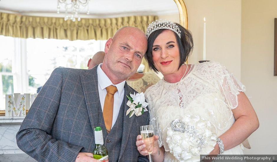 Steve and Sara's wedding in Darlington, Durham