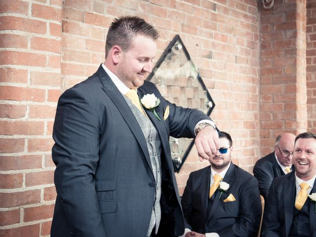 Adam and Clare's wedding in Warwick, Warwickshire 10