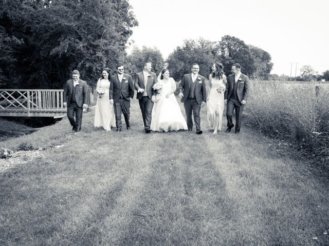 Adam and Clare's wedding in Warwick, Warwickshire 2