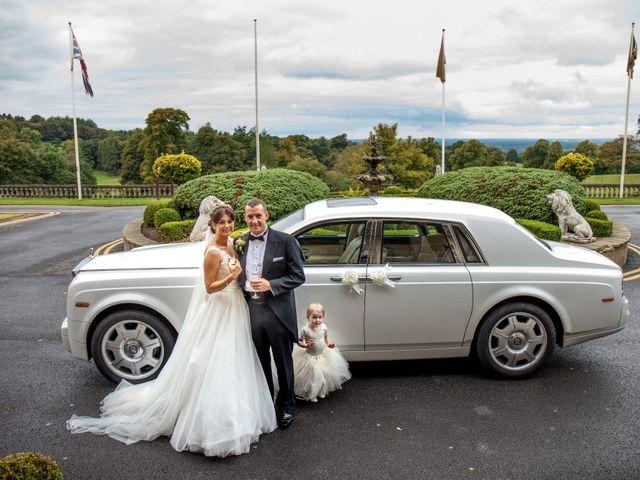 Steven and Natasha's wedding in Chester, Cheshire 3