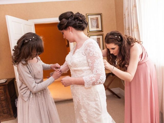 Andy and Becky's wedding in Chester, Cheshire 9