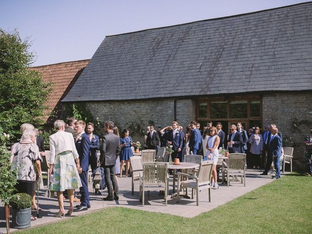 Daniel and Chess's wedding in Farleigh Wick, Wiltshire 4