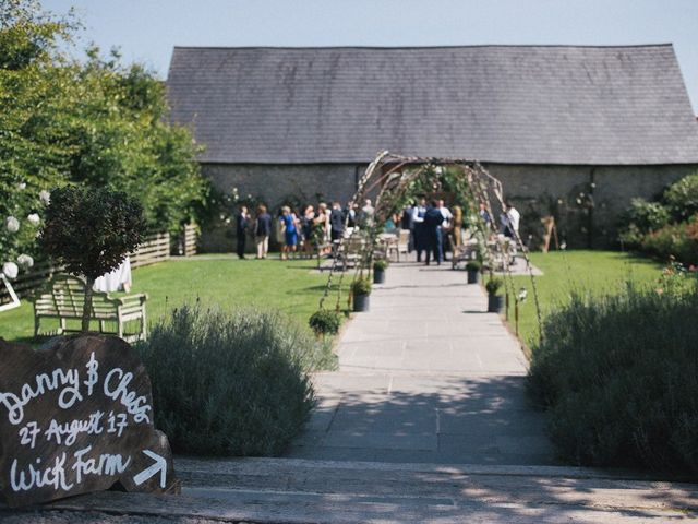 Daniel and Chess's wedding in Farleigh Wick, Wiltshire 5