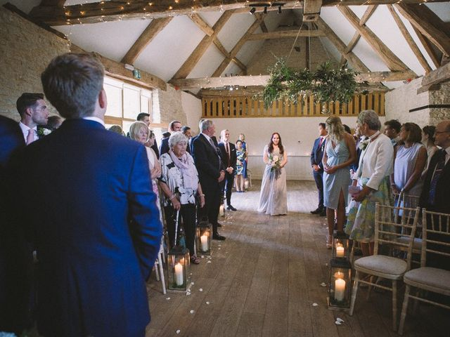 Daniel and Chess's wedding in Farleigh Wick, Wiltshire 6