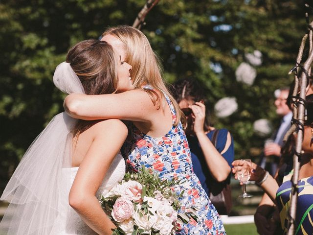 Daniel and Chess's wedding in Farleigh Wick, Wiltshire 8