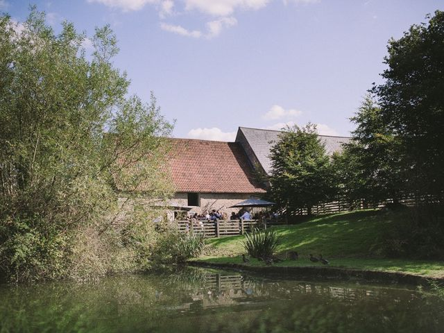 Daniel and Chess's wedding in Farleigh Wick, Wiltshire 10