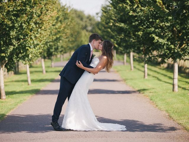 Daniel and Chess's wedding in Farleigh Wick, Wiltshire 2