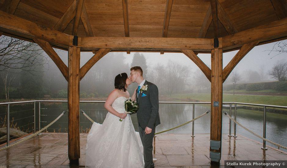 David and Jordan's wedding in Stone, Staffordshire