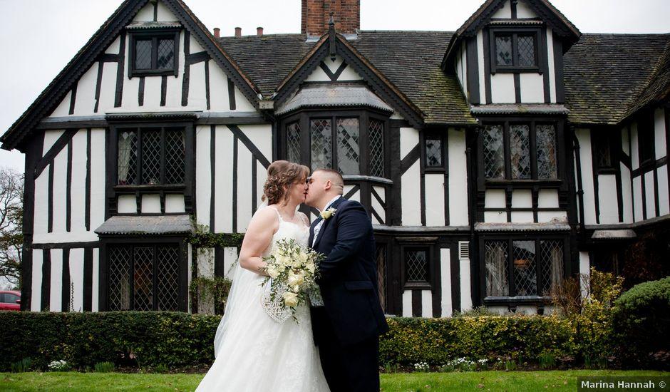 Stuart and Gemma's wedding in Berkswell, West Midlands