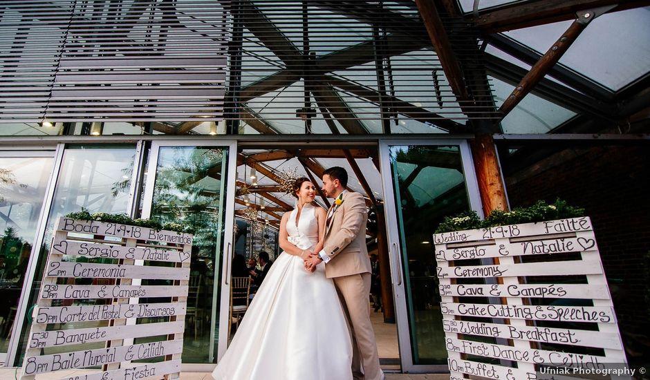 Sergio and Natalie's wedding in Alnwick, Northumberland