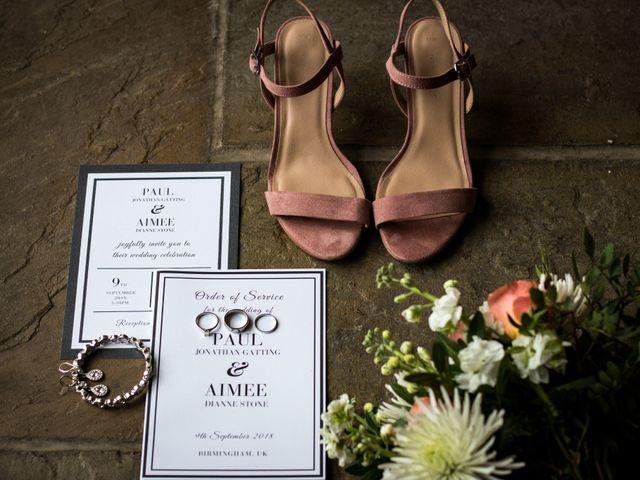 Paul and Aimee's wedding in Birmingham, West Midlands 1
