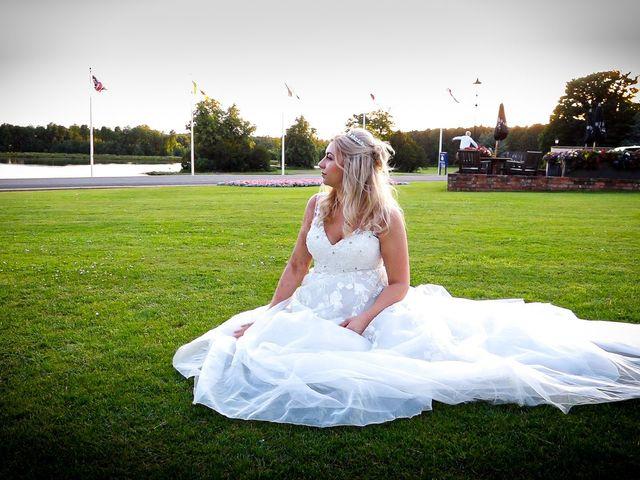 Jason and Ashleigh's wedding in Sedgefield, Durham 3