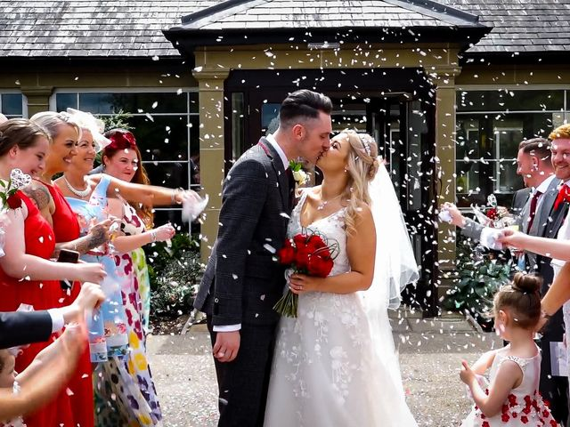 Jason and Ashleigh's wedding in Sedgefield, Durham 6