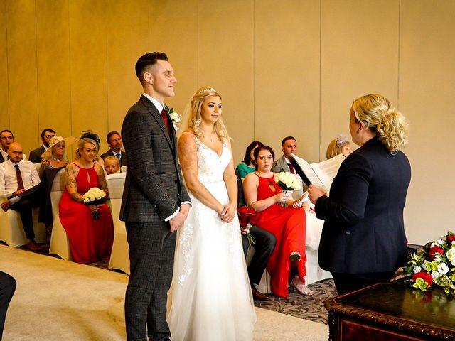 Jason and Ashleigh's wedding in Sedgefield, Durham 2