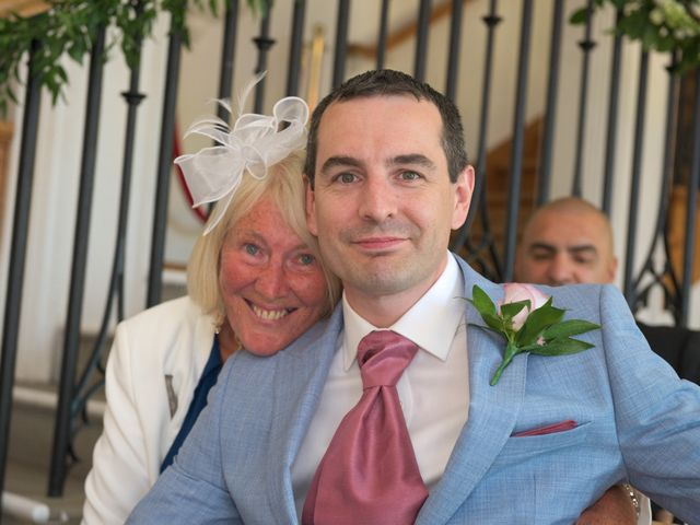 Rob and Edyta's wedding in Great Missenden, Buckinghamshire 8