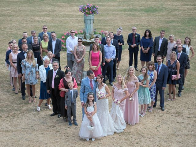 Rob and Edyta's wedding in Great Missenden, Buckinghamshire 10
