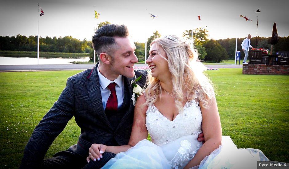 Jason and Ashleigh's wedding in Sedgefield, Durham