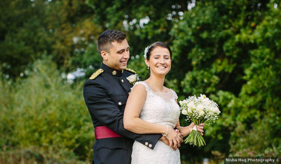 Ammar and Jazz's wedding in Whiteley, Hampshire
