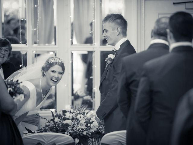 Steven and Amy's wedding in Sutton Coldfield, West Midlands 9