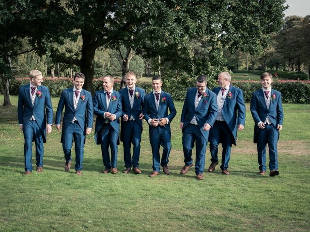 Steven and Amy's wedding in Sutton Coldfield, West Midlands 1