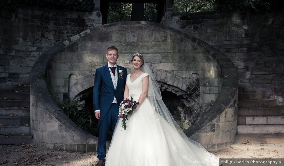 Steven and Amy's wedding in Sutton Coldfield, West Midlands