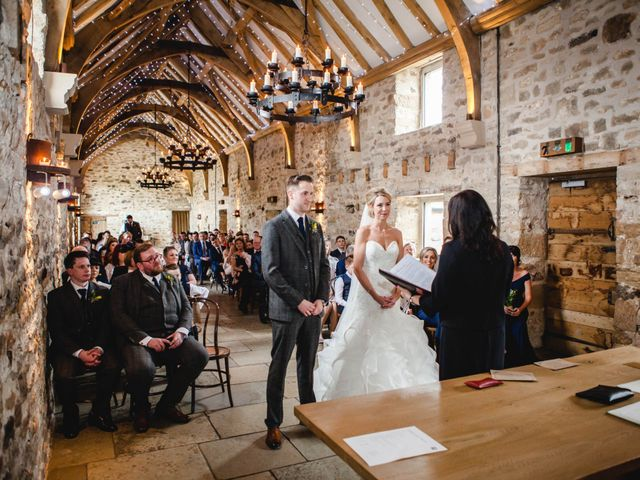 Chris and Natalie's wedding in Healey, Northumberland 2
