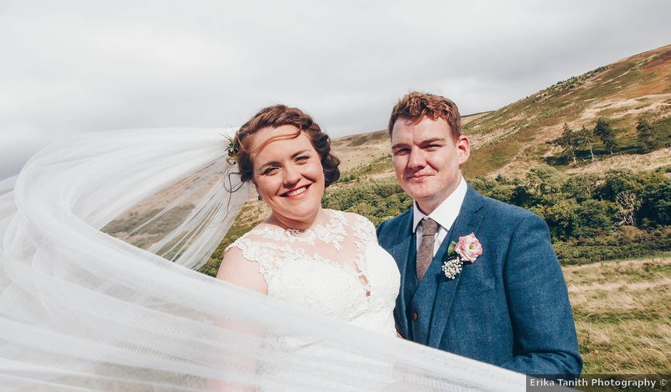 Eoghen and Deirdre's wedding in Wooler, Northumberland